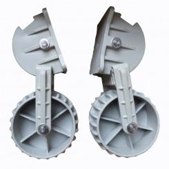 Транцевые колёса пластиковые Kolibri