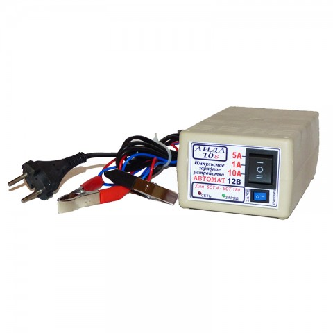 Зарядное устройство для гелиевых/кислотных аккумуляторов АИДА-10s