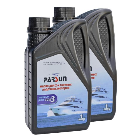 2 л масла для 2-х тактных лодочных моторов Parsun TC-W3