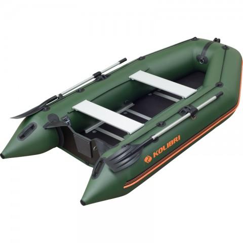 Надувная лодка Kolibri KM-360D зеленая