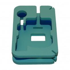 Универсальный чехол (Унибокс) для эхолота Практик бирюзово-синий