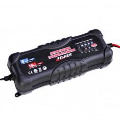 Автоматическое зарядное устройство для аккумуляторов Fisher 2/5/10А 12/24V (аналог СТЕК T4-0227)