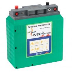 Литий-ионный аккумулятор Weekender 12V 85Ah с зарядным устройством