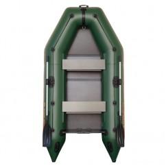 Надувная лодка Kolibri KM-280 зеленая + слань-книжка