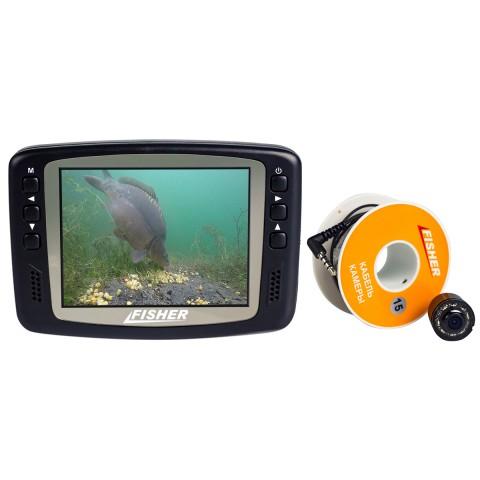 Подводная камера Fisher CR110-7H кабель 15 м