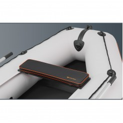 Мягкая накладка на сидение для лодок K-280CT, К-300СТ, КМ-200, КМ-260, КМ-280 чёрная