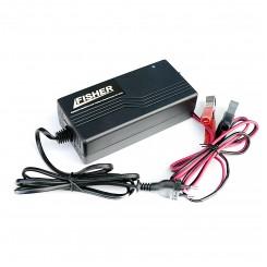 Зарядное устройство для гелиевых аккумуляторов Fisher PSCC-1210 12В 10А