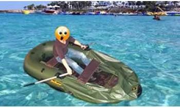 Почему спускает резиновая лодка?