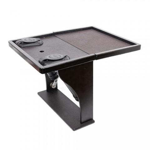 Раскладной столик в лодку для удилищ и эхолота